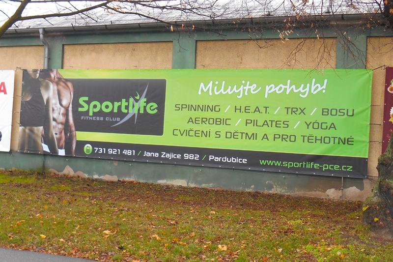 Reklamní plachy a reklamní bannery - Sportlife.