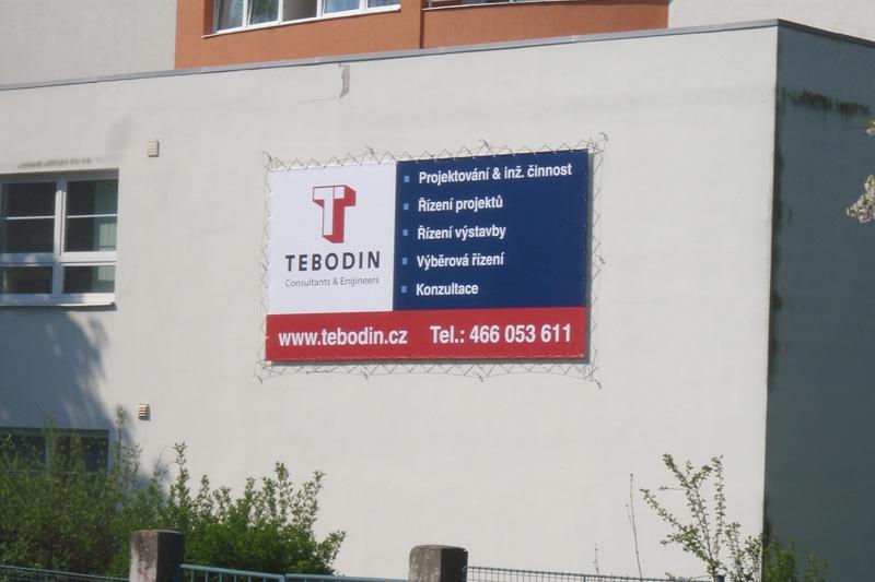 Reklamní plachy a reklamní bannery - Tebodin.